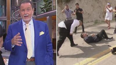 """El Gordo pide justicia: """"Nunca he visto a un guardia que escupa a una persona que está en el piso"""""""