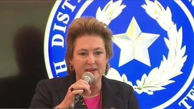 La fiscal del condado Harris se reúne con líderes hispanos para hablar de justicia y seguridad