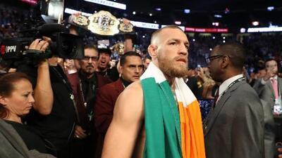 Mandamás de UFC confirma que despojará a McGregor de su título ligero