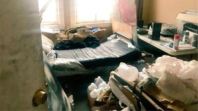 Así fue el operativo en un edificio abandonado en Hollywood que terminó con el arresto de 59 personas