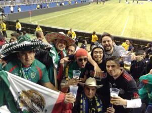 Así vivió Austin el partido México vs Corea