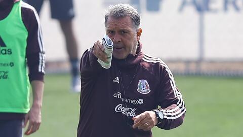 ¡Inició una nueva era! Bajo la dirección del 'Tata' Martino, el 'Tri' prepara el juego frente a Chile