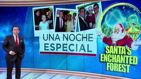 Niños con distintas enfermedades disfrutaron gratis del Bosque Encantado de SantaClaus en Miami