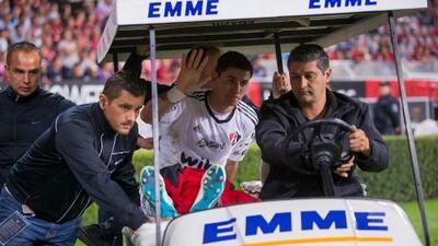 Terrible lesión de Ustari en el Atlas vs. Tigres