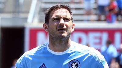 Frank Lampard no seguirá con New York City FC la próxima temporada