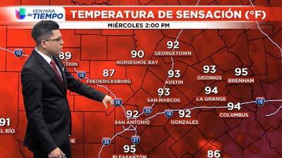 Continúan las temperaturas de verano para el centro de Texas