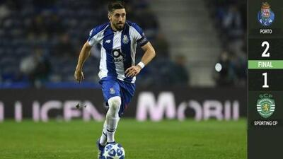 ¡Herrera se despidió de la Liga de Portugal con golazo! Porto venció al Sporting