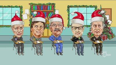 La Escuelita: Martino, Tuca, Jorge Vergara, Ricardo Peláez y el Piojo escribieron sus cartas a Santa Claus