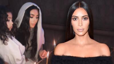 Kim Kardashian revela que ella también se bautizó en Armenia (y publica nuevas fotos del de sus hijos)