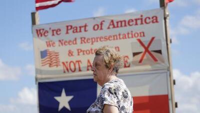"""El muro podría dejar a estos estadounidenses en el """"lado mexicano"""""""