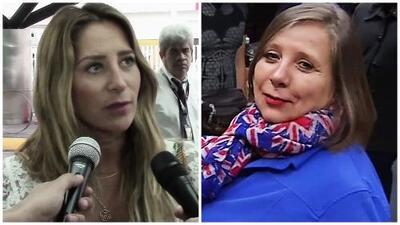 Geraldine Bazán le ruega a su mamá que no hable con la prensa y como no le hace caso le manda un mensaje por TV