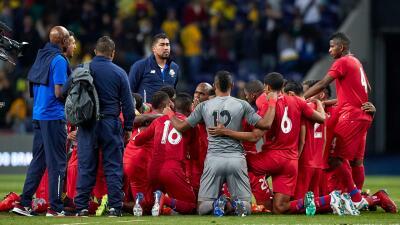 En fotos: el histórico empate de Panamá ante Brasil en el juego amistoso disputado en Porto