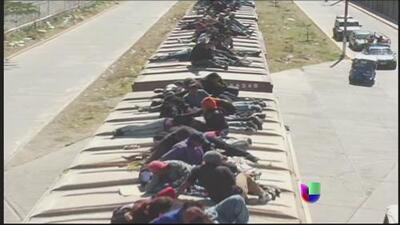 México domará a 'la bestia', anunció medidas para evitar que migrantes se embarquen al tren