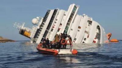Suman 15 las víctimas mortales en el 'Costa Concordia'