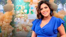 Jomari, Carlitos y la familia de Despierta América acompañó a Francisca en el baby shower de Gennaro