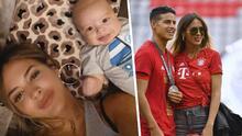 Shanon de Lima publica su primera fotografía con el hijo de James Rodríguez