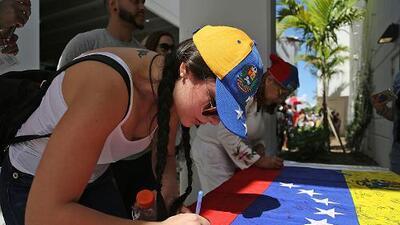 Miami le pide a Donald Trump TPS para los venezolanos en EEUU