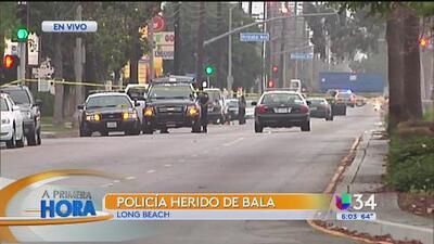 Dos heridos en tiroteo en Long Beach