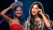 Alejandra Espinoza no pudo contener las lágrimas al anunciar que estará nuevamente en Nuestra Belleza Latina