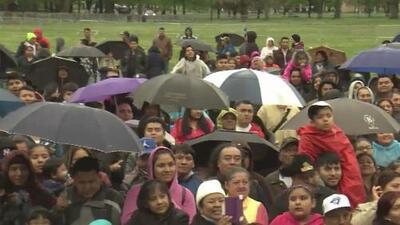 Cientos de mexicanos se dieron cita en el Flushing Meadows Park para celebrar el Cinco de Mayo