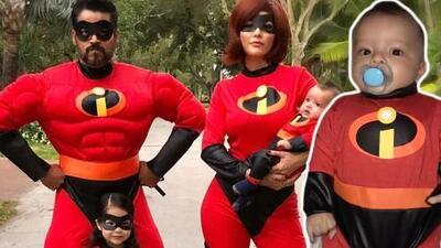 Ana Patricia hace que Gael disfrute su primer Halloween con un 'increíble' disfraz
