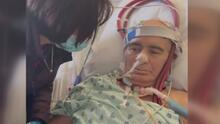 Familia busca ayuda para realizar un trasplante de pulmón a su ser querido, un latino víctima del coronavirus
