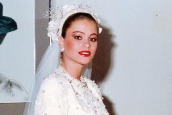 #TBT: Así fue la primera boda de Sofía Vergara