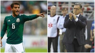 Jonathan dos Santos avala la posible llegada del 'Tata' Martino al Tri