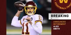 Alex Smith se retira de la NFL tras 15 temporadas