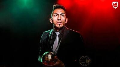 Determinante, Ángel Mena, el mejor medio ofensivo de la temporada