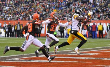 Las mejores imágenes del Pittsburgh Steelers - Cleveland Browns