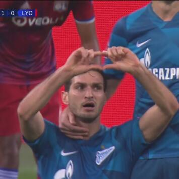 ¡Tres toques y adentro! Gol de Ozdoev, victoria 2-0 del Zenit y aprieta el Grupo G