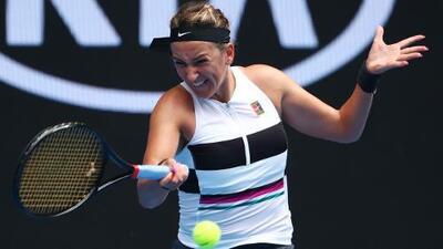 La bielorrusa Victoria Azarenka participará en el Abierto Mexicano de tenis