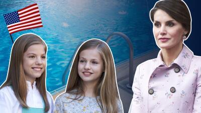 La princesa Leonor y la infanta Sofía de España andan de campamento por Estados Unidos