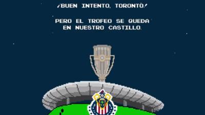 Épico troleo de Chivas a Toronto en redes sociales