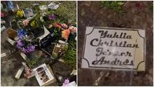 Pisan y orinan el memorial hecho a los 4 jóvenes muertos en un accidente de tráfico en Año Nuevo