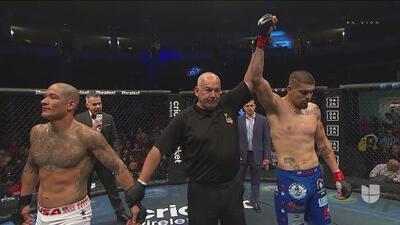 Por TKO, 'Big Al' se llevó la pelea