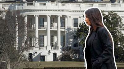 Así llegó Kim Kardashian a la Casa Blanca y esta es la foto que tomó dentro (diferente a lo que acostumbra)