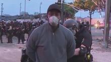 Un equipo de noticias de CNN fue arrestado mientras cubría en vivo las protestas en Minneapolis