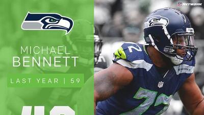 #46: Michael Bennett (DE, Seahawks) | Top 100 Jugadores 2017
