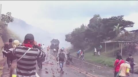 Comunidad indígena de Colombia suspende el bloqueo de vías tras 27 días de protestas y tensiones