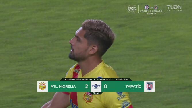 ¡Dominan y se mantienen en la cima! Atlético Morelia vence 2-0 al Tapatío