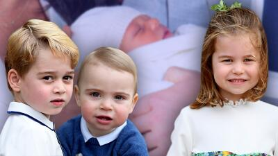 Los primos del bebé Archie (los príncipes George, Charlotte y Louis) no pudieron conocerlo