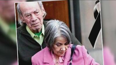 El 'Loco' Valdés no podrá asistir al funeral de su esposa, la actriz Arcelia Larrañaga