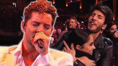 David Bisbal puso a bailar a Becky G y Sebastián Yatra con su tema 'Perdón' en Viña del Mar 2019