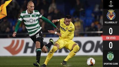 EN VIVO | Villarreal no logra abrir el candado defensivo del Sporting