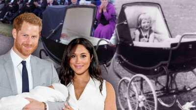 Meghan y Harry rompen otra tradición real (y tiene que ver con la carriola de Archie)