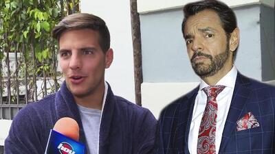Vadhir confiesa que su papá Eugenio Derbez no sabe nada de su nuevo proyecto como actor