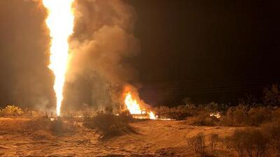 Se reporta una explosión en una toma clandestina de gasolina en Hidalgo