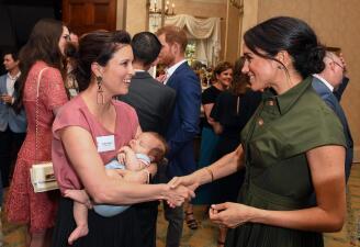 ¿Meghan Markle tiene 4 meses de embarazo? Una cantante revela lo que la casa real calló